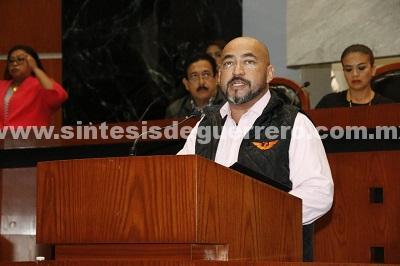 Exhorta diputado Arturo López al Congreso Local para que apruebe la Ley Orgánica de la Fiscalía General del Estado