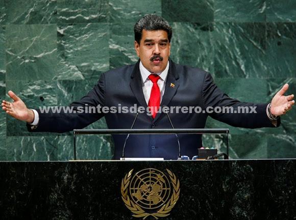 Estoy dispuesto a hablar con Trump y estrechar su mano: Maduro
