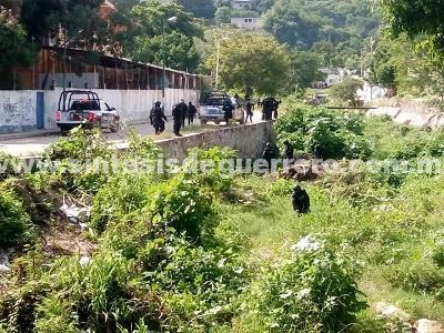 Agentes estatales se enfrentaron con civiles armados en Acapulco