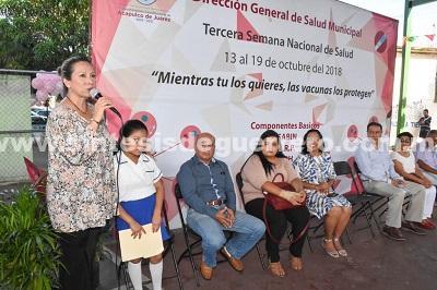 (Video) Inaugura Adriana Román Tercera Semana Nacional de Salud