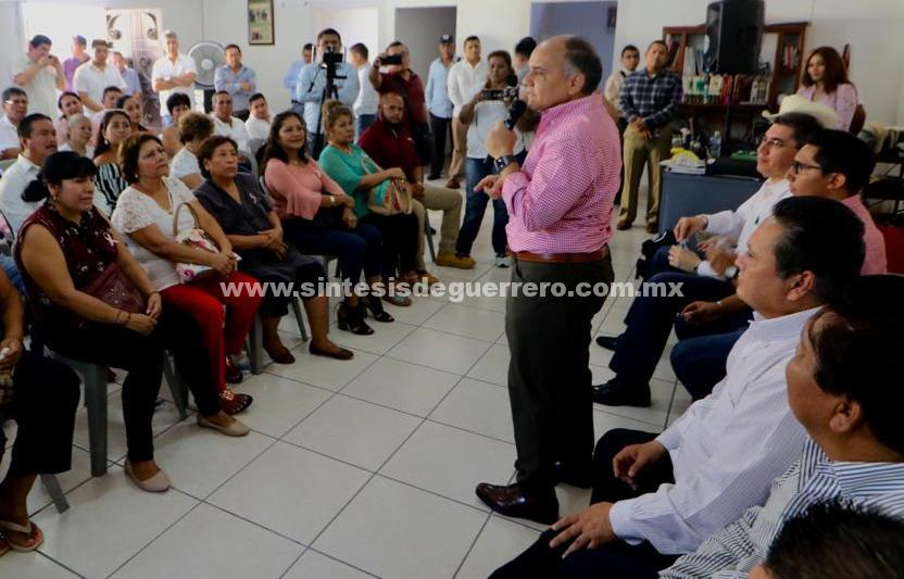 Agradece Añorve a militantes priistas de Iguala el apoyo recibido durante su campaña