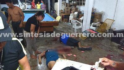 Ataque en zona de tolerancia de Marquelia, Guerrero, deja 3 muertos y 4 heridos