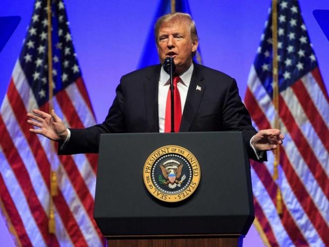 Trump amaga a caravana con más tropas para defender 'frontera sagrada'