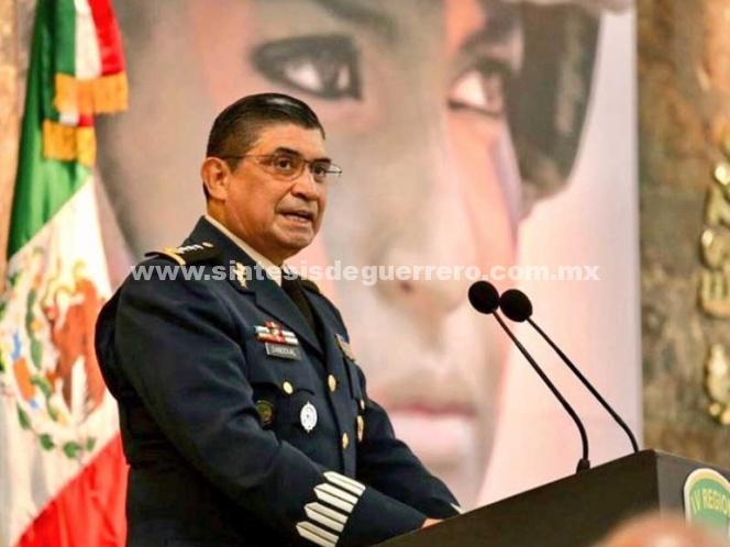 Sandoval es una 'excelente designación' para Sedena: Cienfuegos