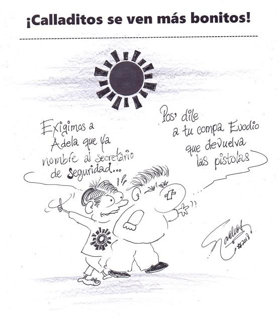 El Cartón de Nacho´s:  ¡CALLADITOS SE VEN MÁS BONITOS!