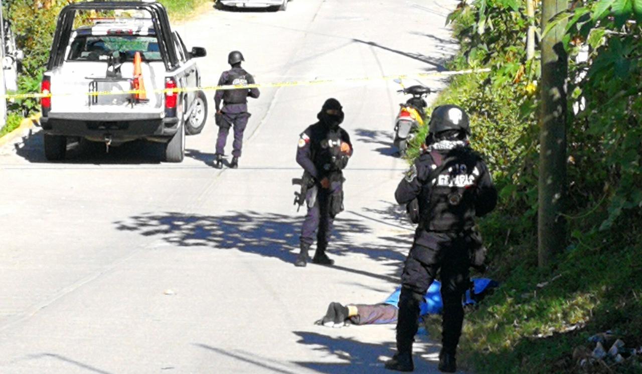 Ejecutan a un joven al Oriente de Chilpancingo; estaba amordazado