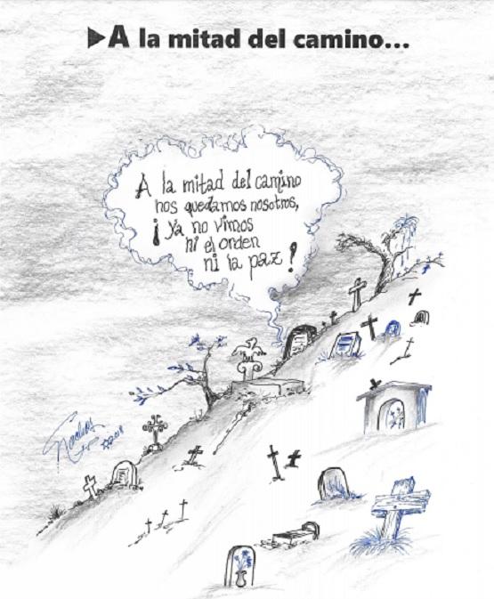 El Cartón de Nacho´s: A LA MITAD DEL CAMINO…