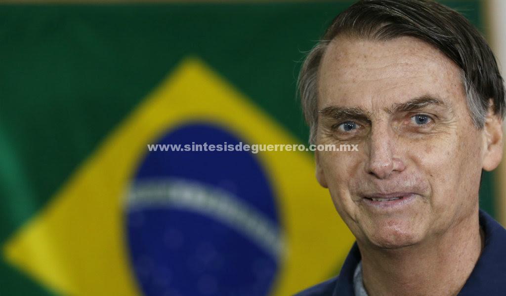 Jair Bolsonaro, el 'Trump brasileño', gana la primera vuelta presidencial