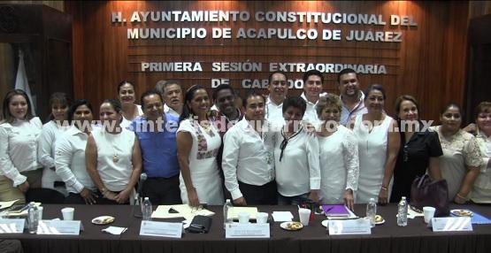 (Video) Aprueba Cabildo de Acapulco designación de secretarios  y contralor