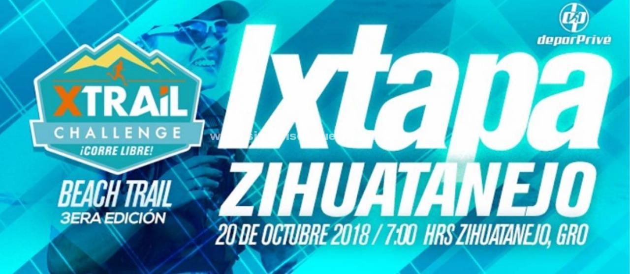 Todo listo para recibir la 3era. Edición del Xtrail Challenge Ixtapa-Zihuatanejo 2018