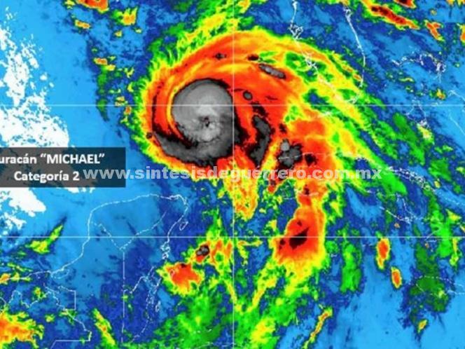 'Michael' se intensifica en el Golfo de México como categoría 2