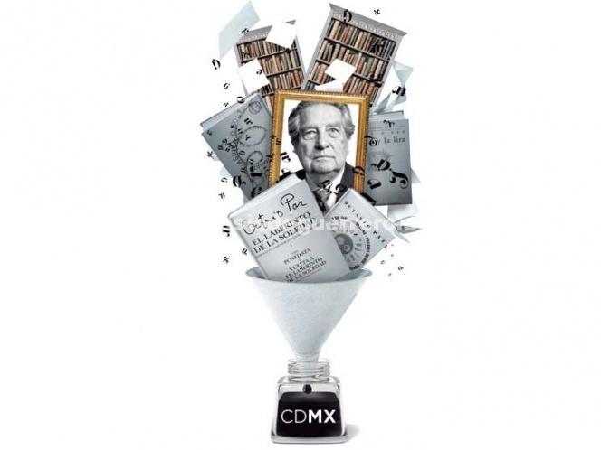 El legado de Octavio Paz se queda en la Ciudad de México