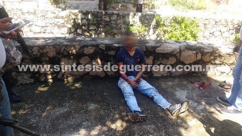Atacan a tiros a un hombre en Acapulco