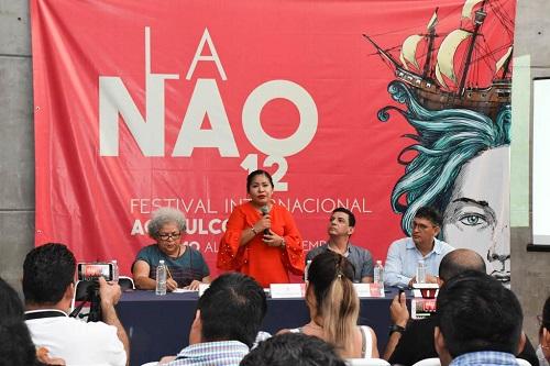 (Video) Presentan cartelera del 12 Festival Internacional de La Nao
