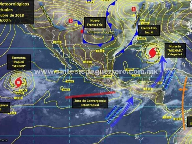 Huracán 'Michael' se intensifica a categoría 4 en la Península de Yucatán