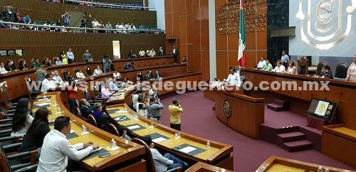 Este lunes en el Congreso de Guerrero quedaron instaladas formalmente 16 Comisiones y un Comité Ordinario