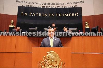 El Senador Manuel Añorve Baños propone la legalización de la amapola con fines medicinales a nombre del Grupo Parlamentario del PRI en el Senado