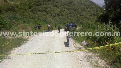 Ejecutan a un joven en el municipio de Chilapa de Álvarez