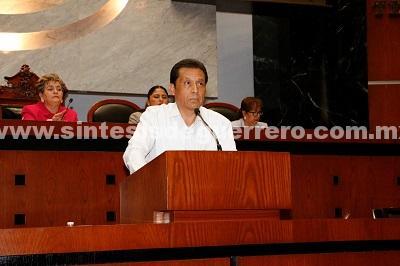 (Video) Propone el diputado Zeferino Gómez exhortar al Ejecutivo Federal para que dependencias encargadas informen sobre la distribución de los recursos asignados a la Autopista del Sol