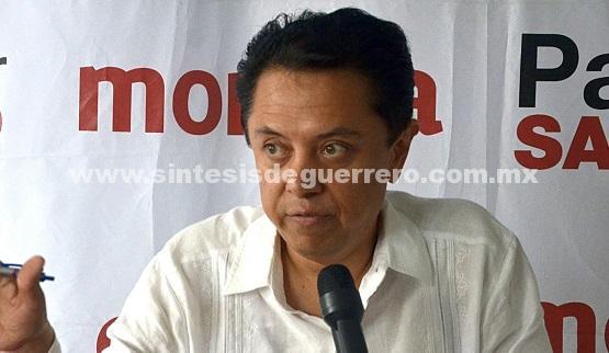 Notifica Pablo Sandoval a la dirigencia nacional de Morena, sobre caso de diputados «traidores»