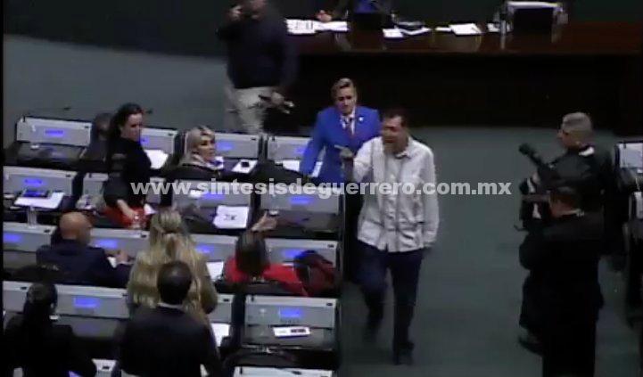 VIDEO: ¡Hay tiro! Noroña y Luis Miranda discuten en la Cámara de Diputados