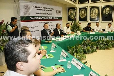 (Video) Quedan conformadas las 33 comisiones y los 4 comités ordinarios en el Congreso de Guerrero