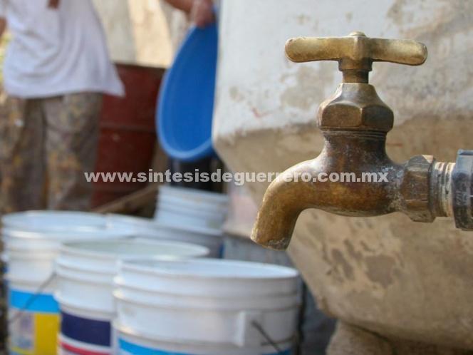 Suministro de agua se regularizaría hasta el 9 de noviembre en CDMX