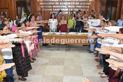 (Video) Instala Gobierno de Adela Román el Sistema Municipal para Prevenir, Atender, Sancionar y Erradicar la Violencia contra las Mujeres