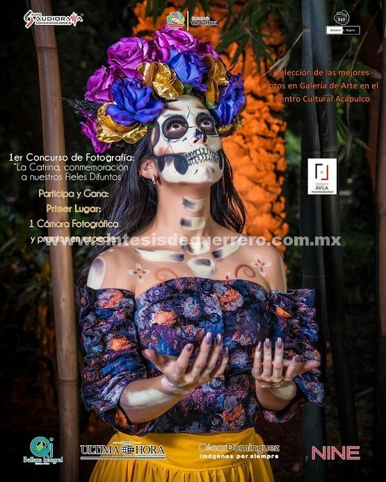 """Se continua recibiendo propuestas fotográficas para el 1er concurso de Fotografía  """"#LaCatrina, Conmemoración de los #FielesDifuntos""""."""