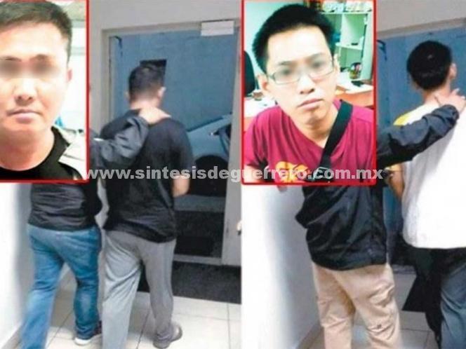 Indonesios vandalizan piezas olmecas; juez los deja libres