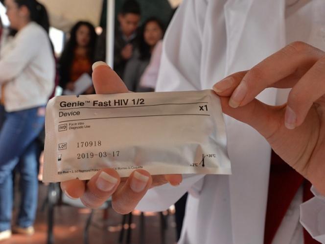 Diariamente, 41 personas se infectan de VIH en México