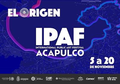 Se suma Gobierno de Guerrero a la plataforma del IPAF; International Public Art Festival 2018