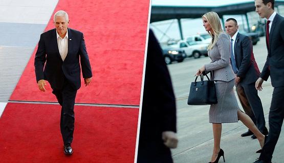 Trump confirma que Mike Pence e Ivanka asistirán a toma de protesta de AMLO
