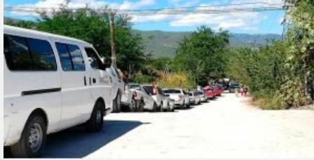 Fue falso supuesto ataque desde los cerros a la caravana de desplazados de la Sierra