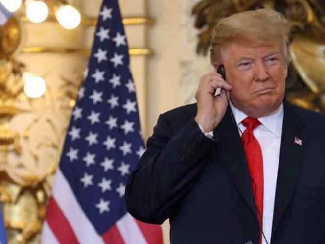 Trump 'hace berrinche' con traductora del G20 y avienta audífono