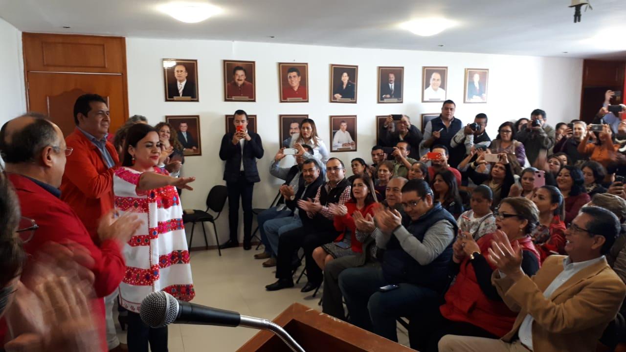 Gabriela Bernal, asume Presidencia del PRI en Guerrero.