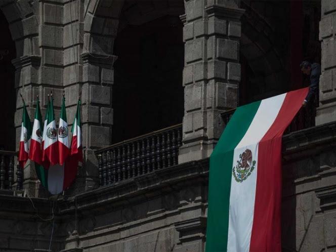 López Obrador decidió no pronunciar un discurso desde el balcón presidencial