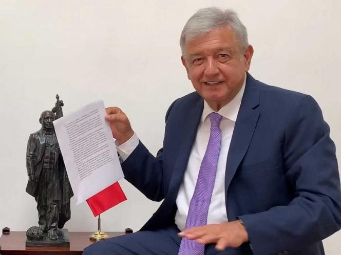Combatiremos la corrupción con la confianza ciudadana: López Obrador