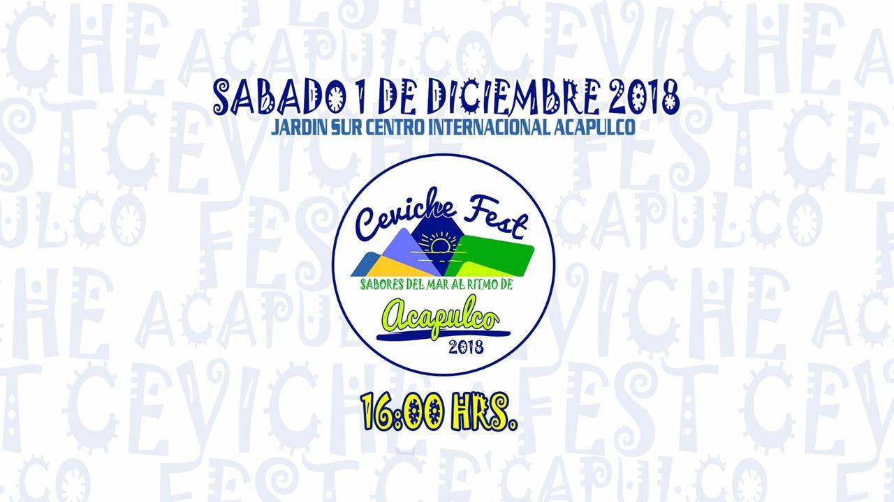 Este sábado, Acapulco sede de la 4ta. Edición del #CevicheFestAcapulco .