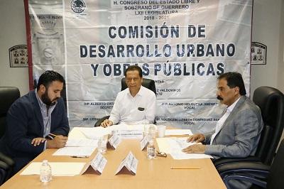 Aprueba Comisión de Desarrollo Urbano plan de trabajo