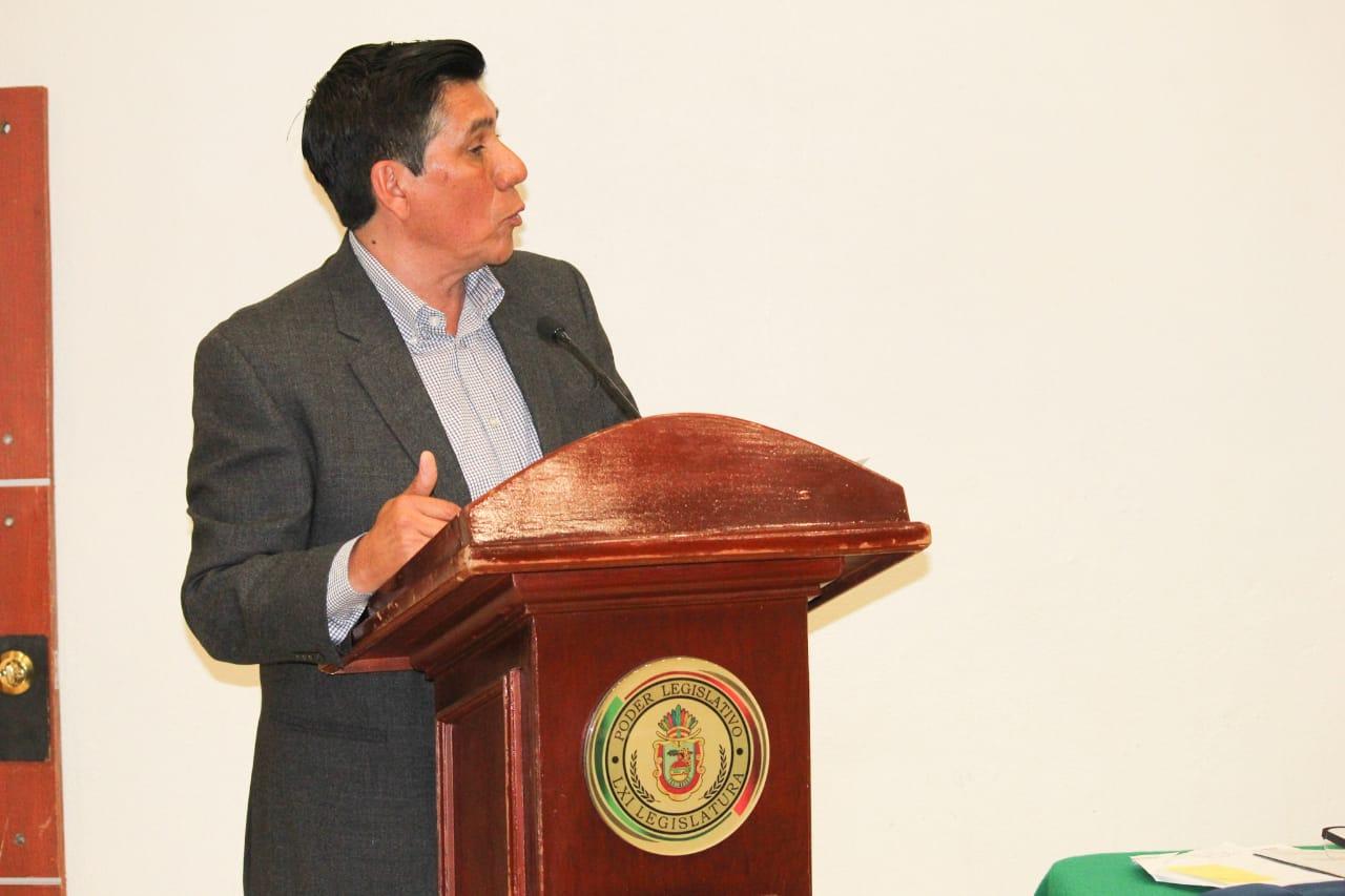 Comparece secretario de Sedesol del gobierno de Guerrero, para dar cumplimiento a la Glosa del Tercer Informe del Gobierno del Estado ante integrantes del Congreso Local