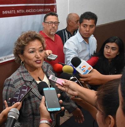 (Video) Confirma Adela Román cambios de funcionarios en su gabinete