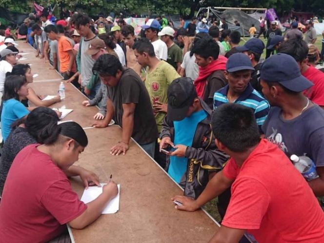 Censan 4a caravana en Oaxaca; hay niños desaparecidos