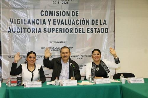 Comisión de vigilancia pide a la ASE que informe sobre la entrega-recepción de los 81 municipios