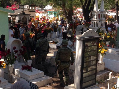 Narcoviolenciasaturó el panteón de Chilapa
