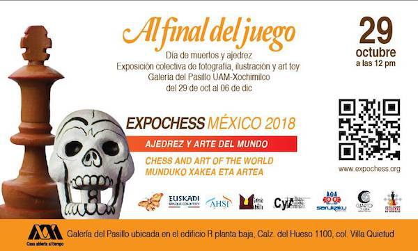 Día de Muertos y Ajedrez en México