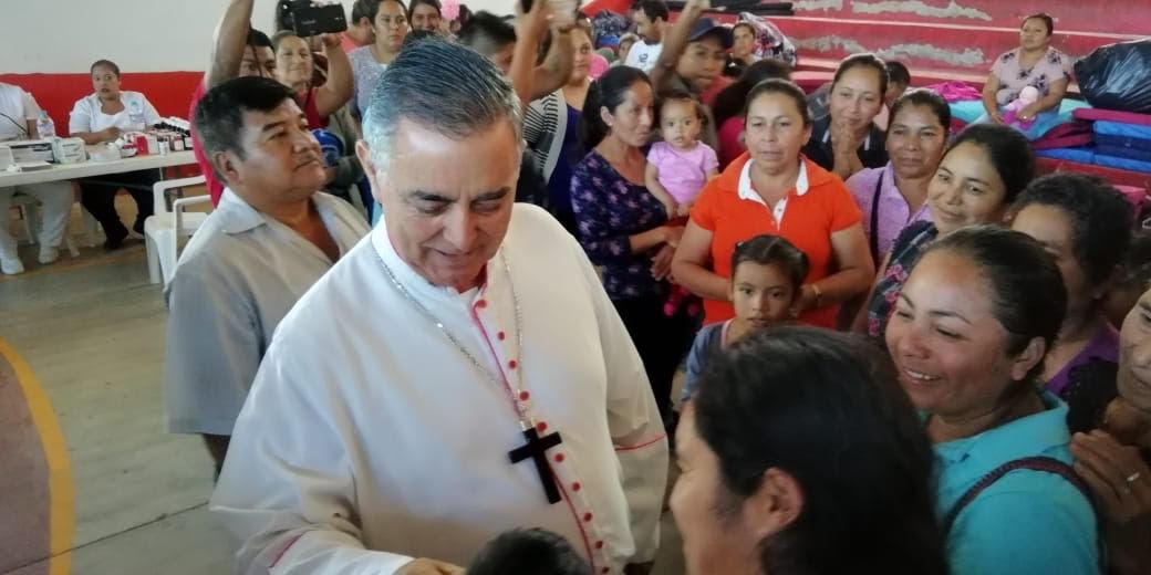 Insiste Obispo Salvador Rangel en una tregua para restablecer la seguridad en la Sierra
