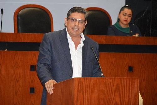 Creación de un fondo para apoyar a cafetaleros de la entidad, propone el diputado Héctor Ocampo