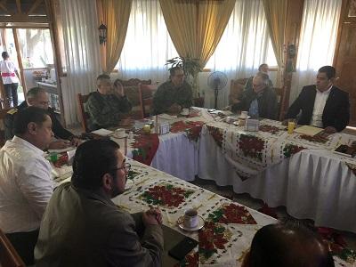Realiza la Coordinación Estatal para la Construcción de la Paz reunión para garantizar la seguridad durante la celebración del Pendón