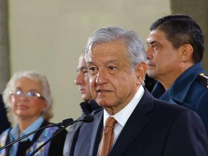 Sólo Trump gana más que presidente de SCJN: López Obrador